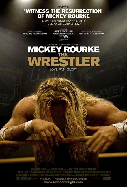 the wrestler wallpaper. The film#39;s opening credits are