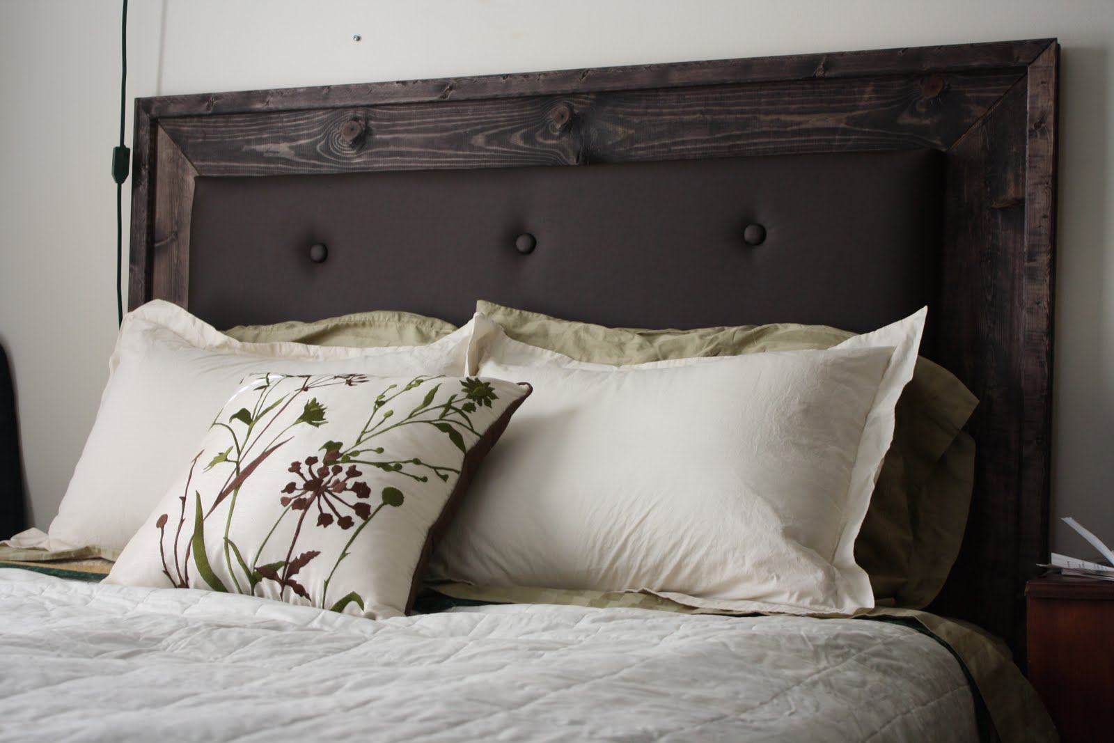 Design Upholstered Headboards Diy more like home simple upholstered headboard