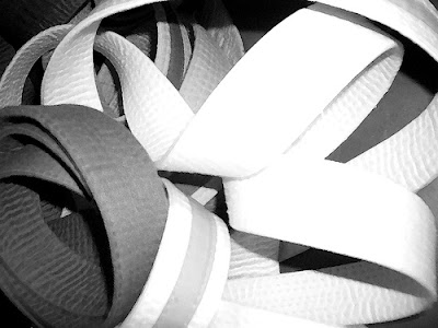 Black And White Martial Arts Belts