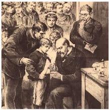 Pasteur sauvant le petit Joseph Meister!