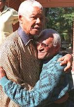 Mandela et Desmond Tutu