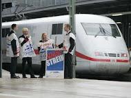 En Allemagne aussi, le rail fait grève