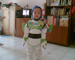 Evan as Buzz Lightyear