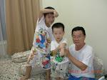 Clay,Evan & Kung Kung Khay