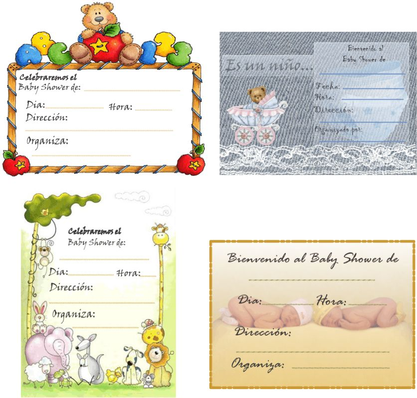 Tarjetas bebés recien nacidos - Imagui