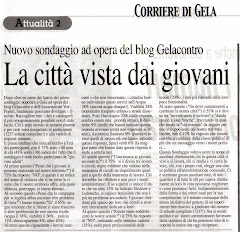 Corriere di Gela 29/03/2008