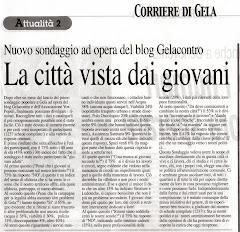 Corriere di Gela 29/03/2008