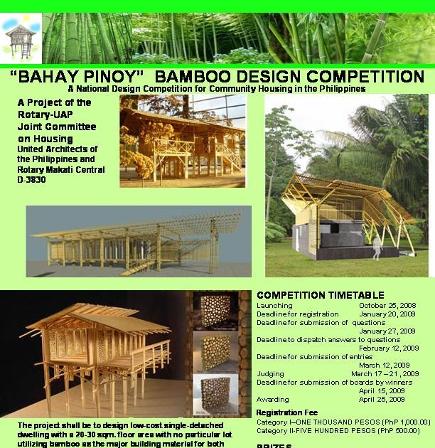 Bahay Pinoy: Compeion Flyer on