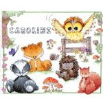 WOODLAND FOLK CROSS STICH