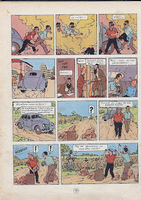 the true Goldstein meets the Irgun leader, while Tintin is freed by Irgun agents, who are stopped by Arabs