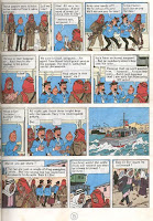 An agent of Babh El Ehr learns learn of Tintin's capture