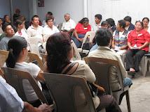 Participantes de la Asamblea