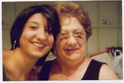 Con mi nieta mayor, Ayelén