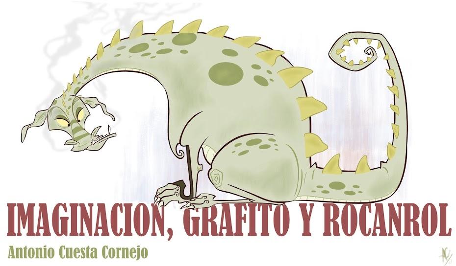 IMAGINACION, GRAFITO Y ROCANROL