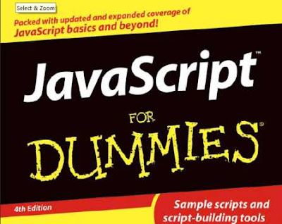 Javascript for Dummies Ebook book cover