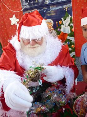 Festa na escola- Papai Noel chegou!