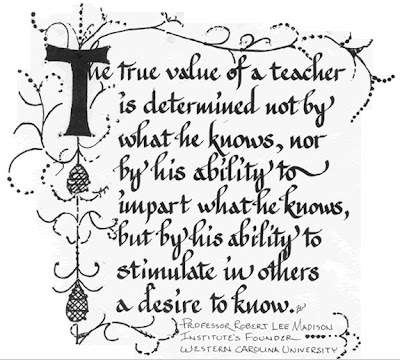 ... Make A Difference ----- The Dedication of Teachers Part One