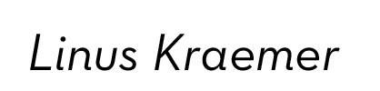 Linus Kraemer