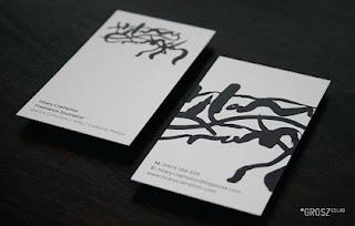 diseño de tarjetas de visitas