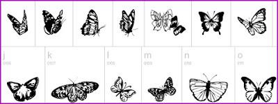 siluetas de animales en vectores