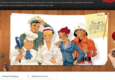 ilustracion sitio web