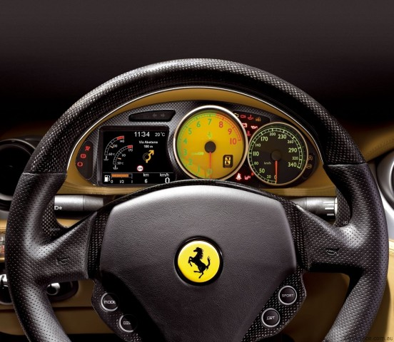 My Yellow City: Ferrari 4-seat GT 612 Scaglietti Car Images