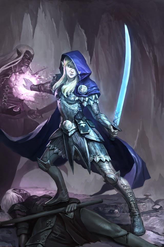 Cl  233 rigo de CorellonEladrin Female Swordmage