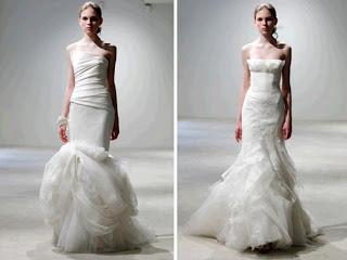 vera wang mermaid wedding dresses