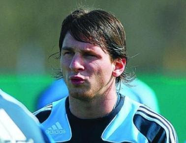 Messi New Hair