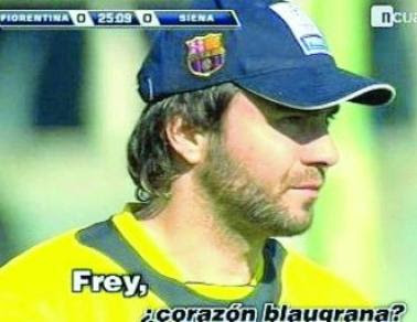 FC Barcelona Blog: Bara Transfer Zone: Picture of the day: Frey