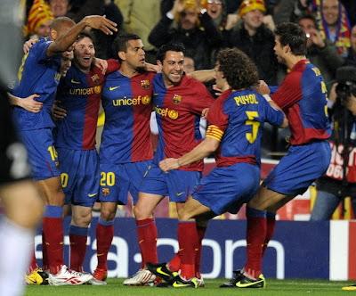 barcelona team photos