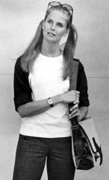Candice Bergen young pictures