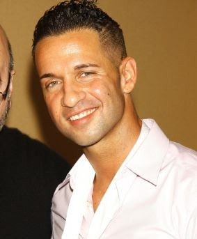 Jersey Shore star Mike Sorrentino slapped.
