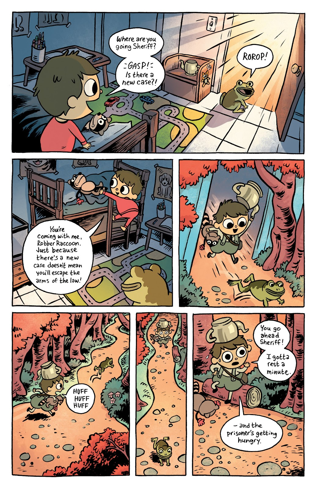 Over the Garden Wall (2016) Issue #1 #1 - English 3