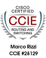Marco Rizzi CCIE #28129 R&S