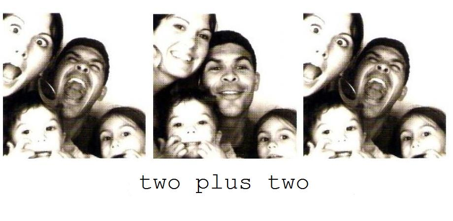 two + two