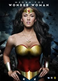 Wonder Woman Megan Fox Fan Poster