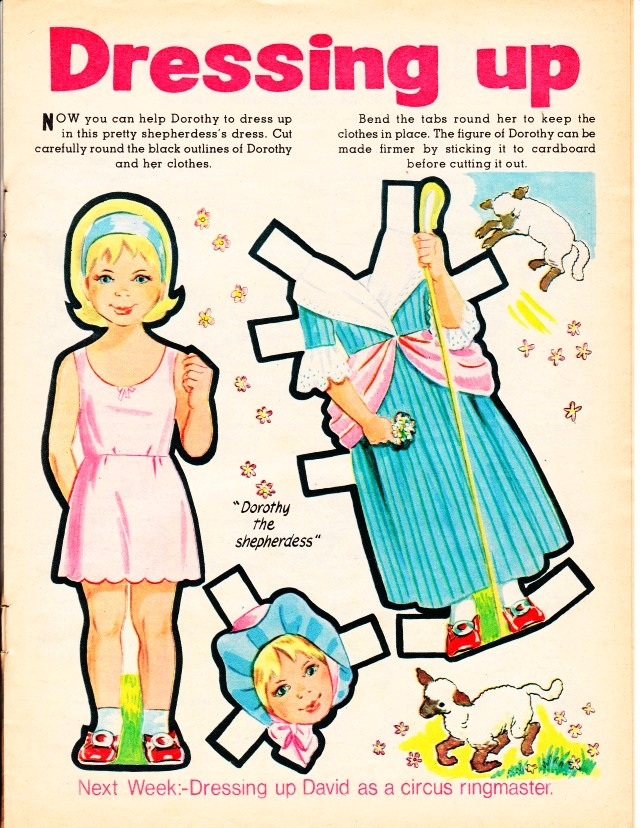 The Paper Collector: Bimbo for children, March 1, 1969