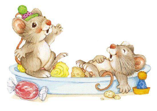 Ratones en foami - Imagui
