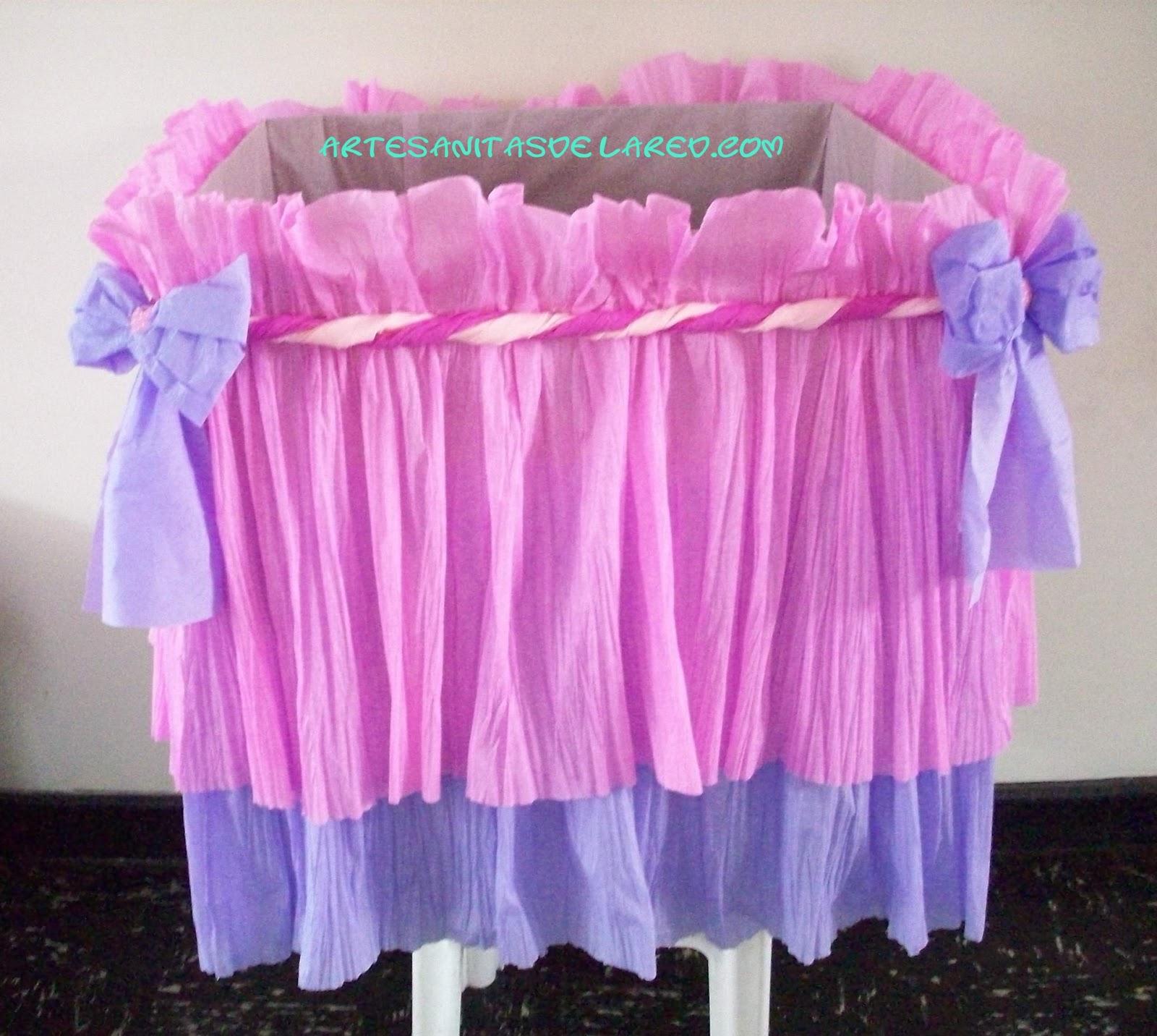 Caja de regalo de baby shower niña - Imagui