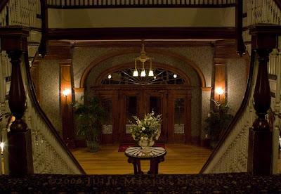 Historic Stanley Hotel lobby