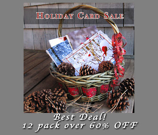 Holiday Christmas Card 12 Pack by Julie Magers Soulen
