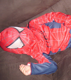"Here are a couple family photos ! This is the ""REAL"" Spiderman :O)"