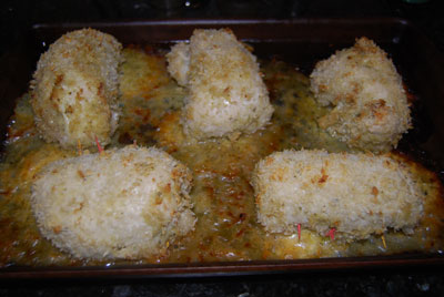 Susan Mallery Cooks: Pesto Panko Cheesy Chicken Rolls