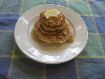 Oatmeal Buttermilk Pancakes