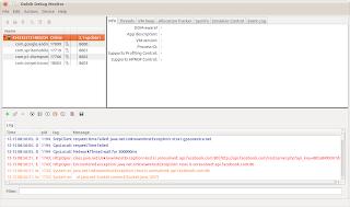 Screenshot Ponsel Android dari Ubuntu Devices-droid4