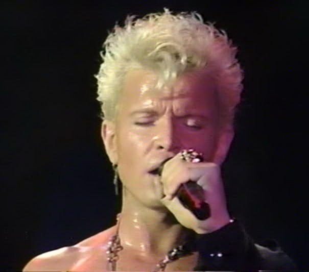 Billy Idol - 1990-12-20 - London, UK DVDfull pro-shot