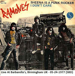 The Ramones - 1977-05-24 - Birmingham, UK