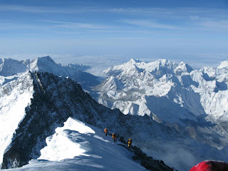 View_From_Mount_Everest_Summit_to_Nepal