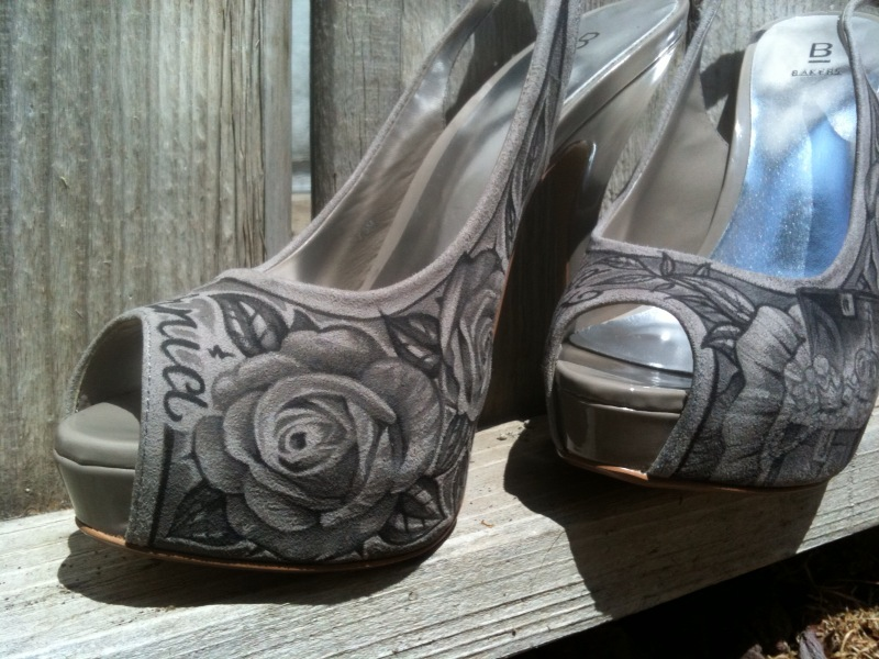Latisha Wood Shoes